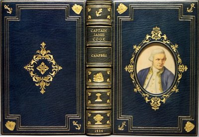 Cosway Binding Captain Cook by Campbell